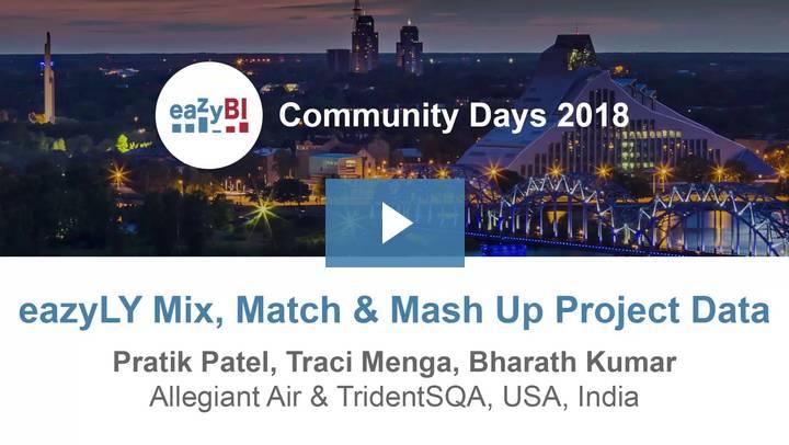 9-eazyLY Mix Match-& Mash Up Project Data by Pratik Patel, Allegiant Air