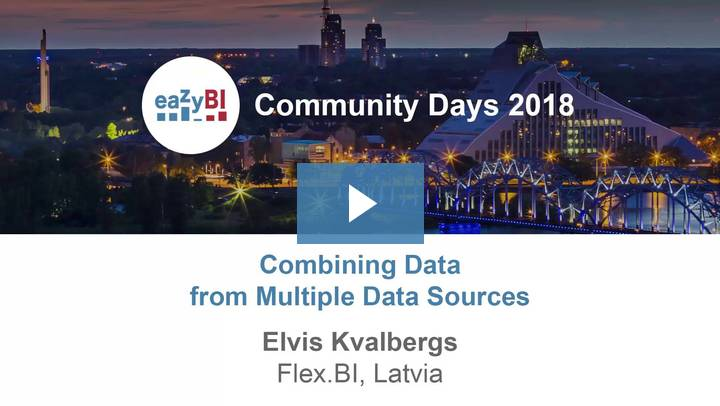 12-Combining Data from Multiple Data Sources by Elvis Kvalbergs, Flex.bi