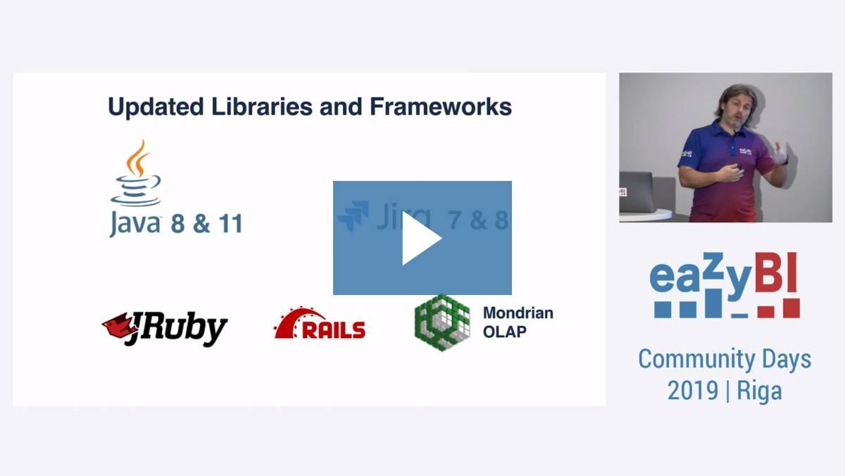 1 Latest eazyBI Features and Future Ideas by Raimonds Simanovskis, eazyBI